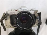 Canon AV-1 And Carrying Case