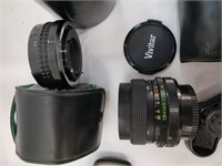 Camera Equipment Lot