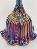 Black AmethystFenton Carnival Glass Bell
