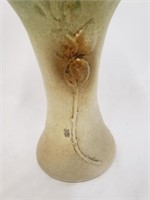 Antique Hand Paintec Rose Vase