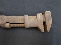 Antique Pipe Wrench Tool
