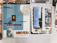 Stamp Yearbook Lot