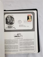 Vintage Binder Of Stamps