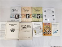Stamp Catalog And Handbooks Lot
