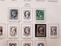 (1860+)United States Liberty Stamp Album