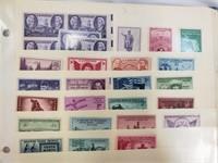 Binder Full Of Vintage Stamps