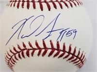 Xavier Scruggs Signed Official Baseball