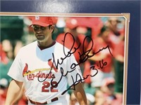 Mike Matheny Signed St Louis Cardinals Photo
