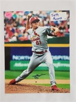 Seth Maness Signed St Louis Cardinals Photo