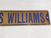 Aeneas Williams St Louis Rams Street Sign