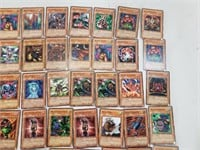 64 Yu-Gi-Oh Playing Card Lot