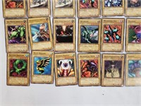 85 Yu-Gi-Oh Playing Card Lot
