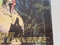RARE Signed The Creators Universe Trading Cards