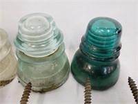 Lot of Antique Railroad Glass & Ceramic