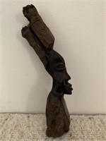 African Wooden Carved Statue