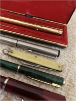 Lot of Fountain Pens and Pen Knife