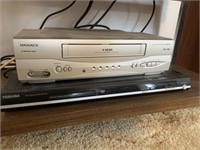 Prima HD Television-VCR-DVD Player and Stand