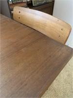 Mid Century Modern Teak Dinning Table-3 Chairs
