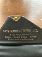 SASS Manufacturing Advertising Promo Playing Cards