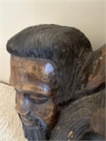 Hand Carved Wooden Statue
