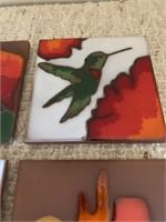 Hand Made Porcelain Nature Tiles