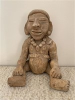 Stone South American Tribal Chief