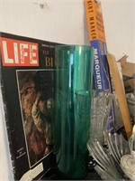 Huge Lot of Shelving with Contents
