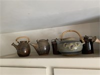 Stoneware Tea Pots  From Around The World