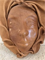 Leather Artisan Molded Leather Mask