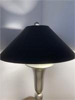 Modern Brushed Nickel Table Lamp