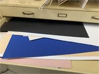 Large Metal Blueprint Drawer Cabinet