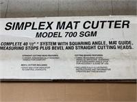 Simplex Art Mat Cutter