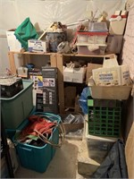 Contents of Storage Room in Basement