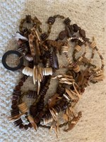 Lot of Wooden Necklaces