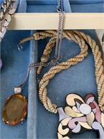Large Jewelry Box with Jewelry