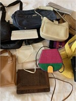 Lot of Many Designer Purses and Bags