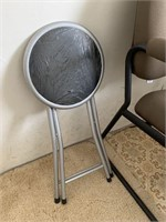 Hall Tree Chair Table and Stool