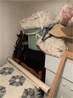 Contents of Lower Bedroom