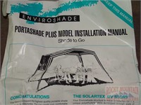 Enviroshade Portashade w/ Bag & Instructions  | Auctioneers Who Know