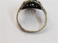 .925 Sterling Silver Ring Size 6.5
