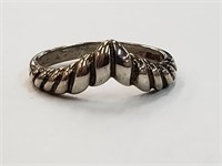 .925 Sterling Silver DAC Ring Size 6