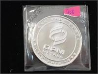 1 oz .999 Silver OPM Metals Round Bullion