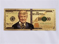 Donald Trump Collectable $1,000,000 Bill