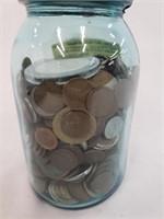 AU 188 Morgan 400+ Wheat Cents & Foreign Coins