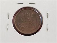 KEY DATE 1909 VDB Wheat Penny Cent