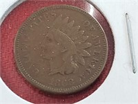 KEY DATE 1868 Indian Head Penny Cent