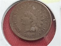 KEY DATE 1867 Indian Head Penny Cent