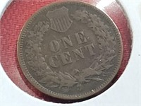 KEY DATE 1874 Indian Head Penny Cent