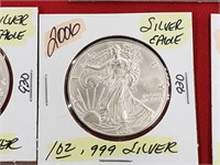 2006 1 oz .999 Silver Eagle $1 Dollar