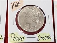 1925 Peace Dollar 90% Silver